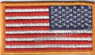 FULL COLOR REVERSE AMERICAN FLAG